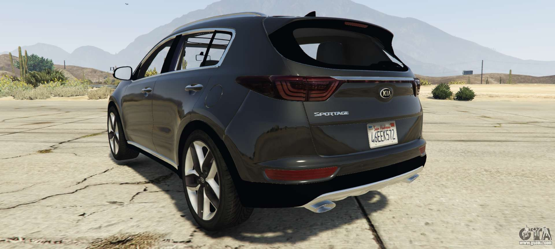 kia sportage 2017 2 5 for gta 5. Black Bedroom Furniture Sets. Home Design Ideas
