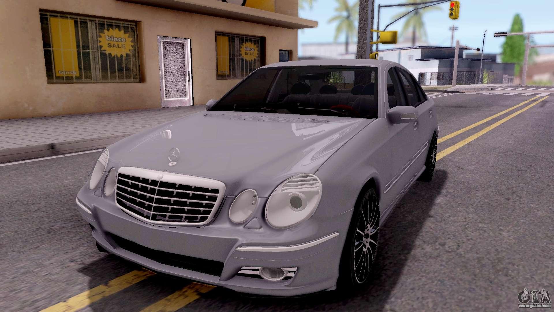 Mercedes-Benz E280 W221 for GTA San Andreas