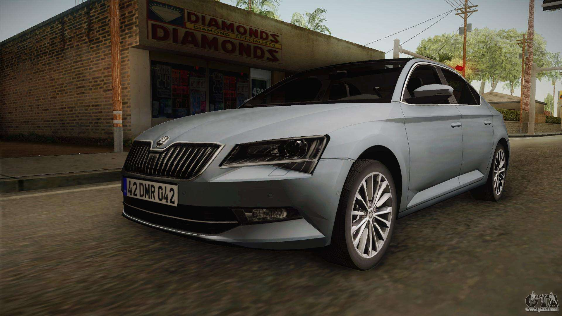 skoda superb 2017 for gta san andreas. Black Bedroom Furniture Sets. Home Design Ideas