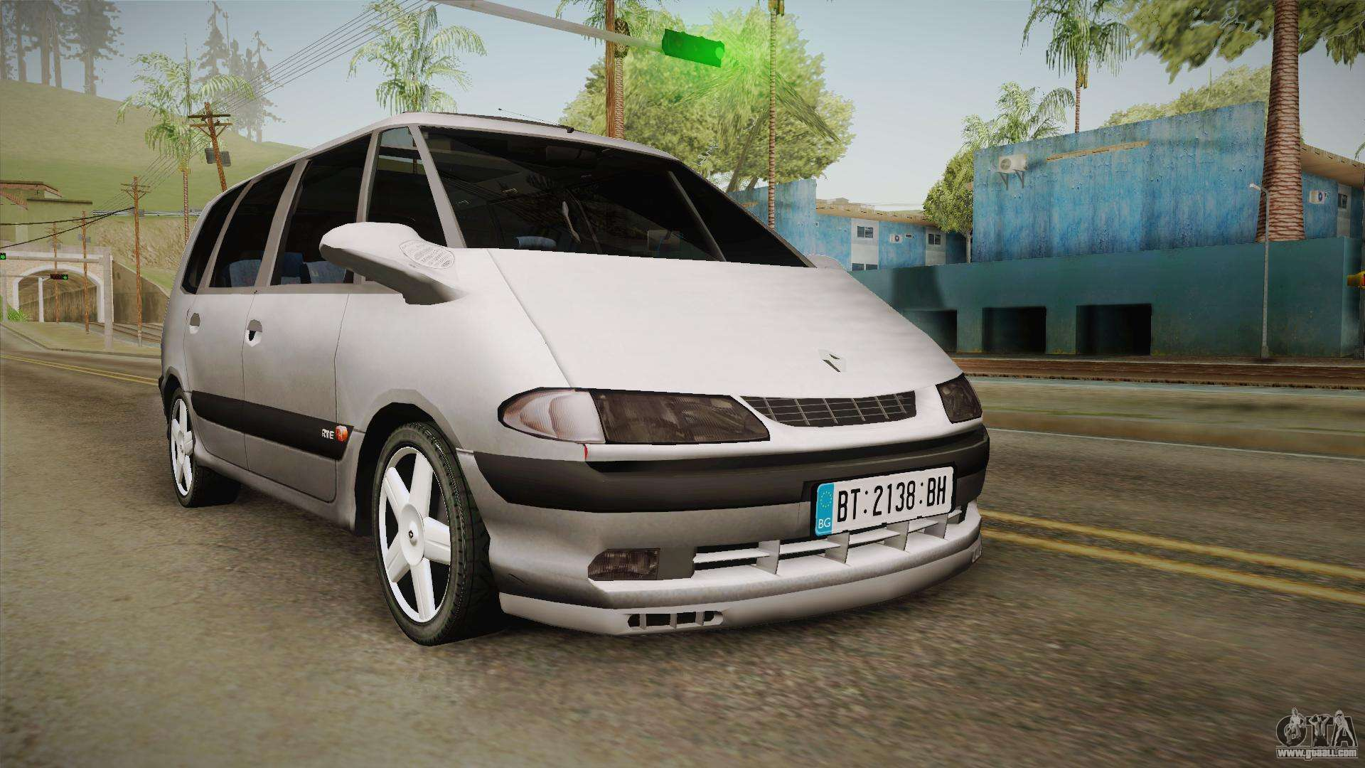 renault espace 1999 2 0 16v for gta san andreas. Black Bedroom Furniture Sets. Home Design Ideas