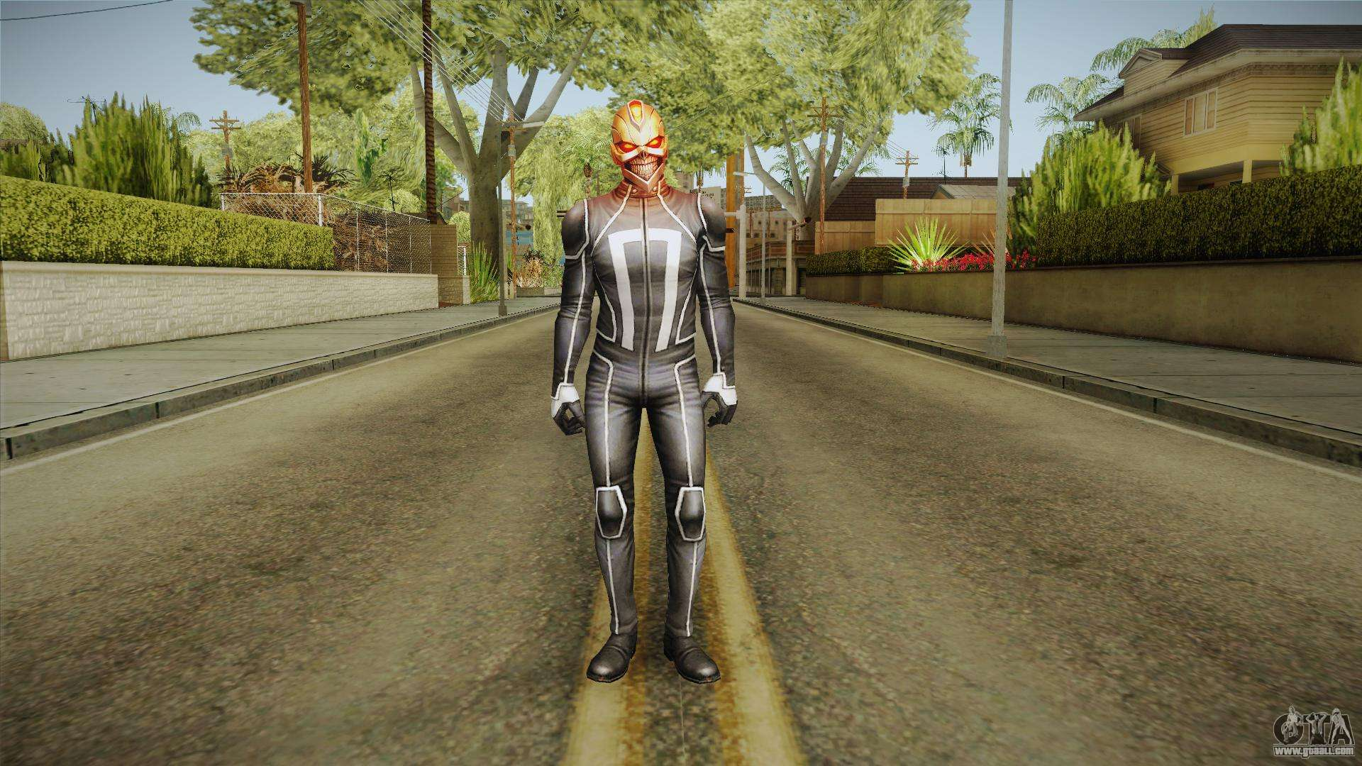 Marvel Future Fight - Ghost Rider Robbie Reyes for GTA San