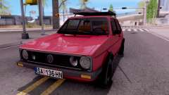 Volkswagen Golf Mk1 Yugoslav for GTA San Andreas