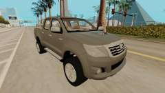 Toyota Hilux silver for GTA San Andreas