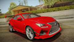 Lexus RC F RocketBunny for GTA San Andreas