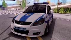 Suzuki SX4 Policija for GTA San Andreas