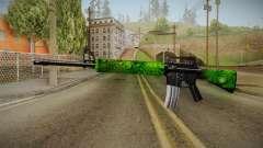 Green M4 for GTA San Andreas