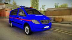Mercedes-Benz Vito Turkish Gendarmerie for GTA San Andreas