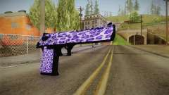 Tiger Violet Desert Eagle for GTA San Andreas