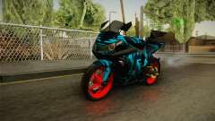 Kawasaki Ninja 250 FI Smoke Tech for GTA San Andreas