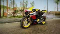 Honda CBR1000RR Repsol Variant 2017 for GTA San Andreas