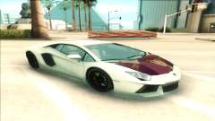 Lamborgini Aventador for GTA San Andreas