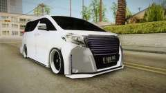 Toyota Alphard 3.5G Bodykit 2015 for GTA San Andreas
