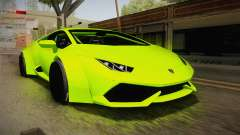 Lamborghini Huracan Rocket Bunny 2014 for GTA San Andreas