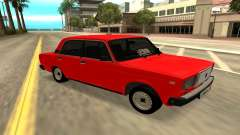 2107 red for GTA San Andreas