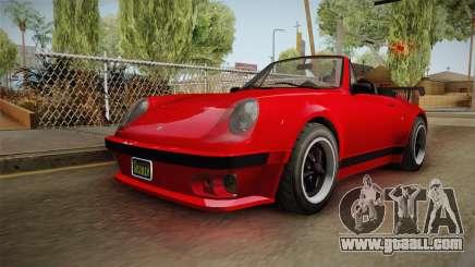 GTA 5 Pfister Comet Retro Cabrio IVF for GTA San Andreas