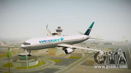 Boeing 767-338ER WestJet Airlines for GTA San Andreas