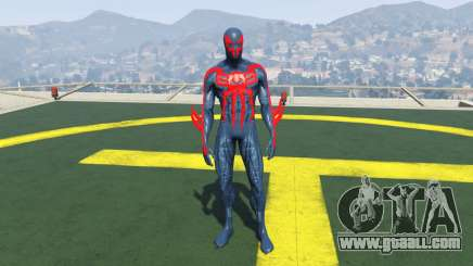Spiderman 2099 for GTA 5