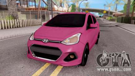 Hyundai i10 for GTA San Andreas