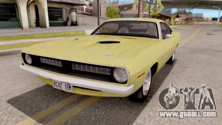 Plymouth Hemi Cuda 440 1970 for GTA San Andreas