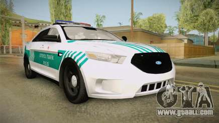 Ford Taurus Turkish Highway Patrol for GTA San Andreas
