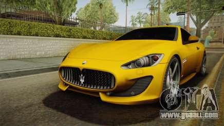 Maserati GranTurismo Sport v2 for GTA San Andreas