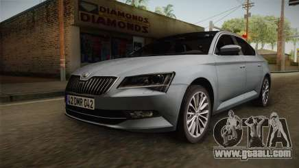 Skoda Superb 2017 for GTA San Andreas