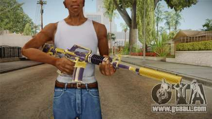 CS:GO - M4A1-S Gold Coil for GTA San Andreas