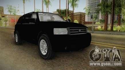 Albany Landstalker 2009 Unmarked for GTA San Andreas