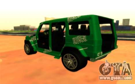 Mersedes-Benz G500 for GTA San Andreas back left view