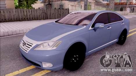 Lexus ES 350 2010 for GTA San Andreas