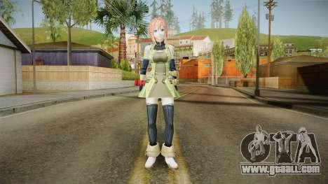 God Eater 2: Rage Burst - Kanon Daiba v1 for GTA San Andreas second screenshot