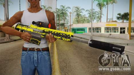 Gunrunning Heavy Sniper Rifle v2 for GTA San Andreas third screenshot
