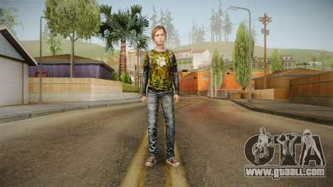 Ellie Tlou v2 for GTA San Andreas second screenshot