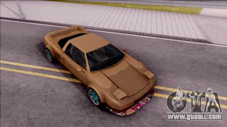 Infernus Tuning for GTA San Andreas right view