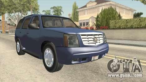 Cadillac Escalade 2002-2006 v2 for GTA San Andreas right view
