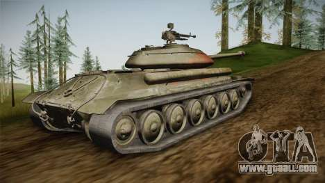 1944 Object 252U v1.0.0 Protector Skin for GTA San Andreas left view