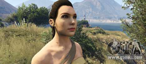 GTA 5 Wonder Woman 2017 third screenshot