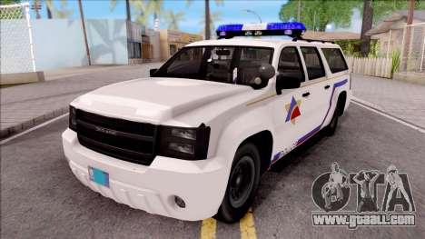 Declasse Granger Hometown PD 2012 for GTA San Andreas