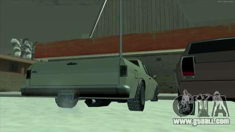 Snow tires machines for GTA San Andreas second screenshot