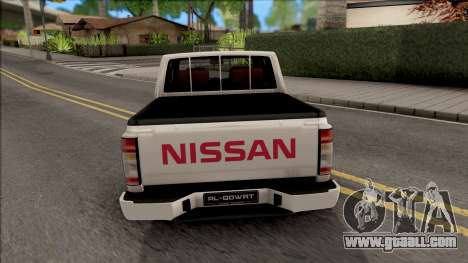 Nissan Ddsen 2016 v1.0 for GTA San Andreas back left view