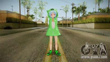 Creeper Skin for GTA San Andreas second screenshot