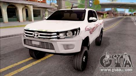 Toyota Hilux 2016 for GTA San Andreas