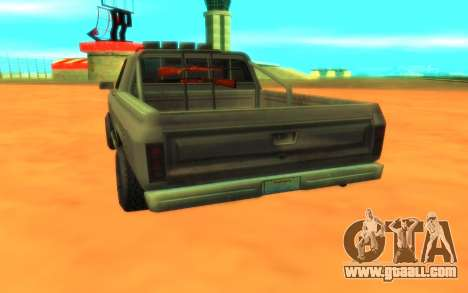Ford F100 for GTA San Andreas back view