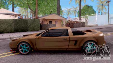 Infernus Tuning for GTA San Andreas left view