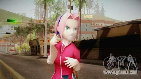 Sakura Haruno NNK for GTA San Andreas