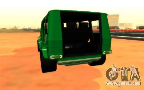 Mersedes-Benz G500 for GTA San Andreas right view