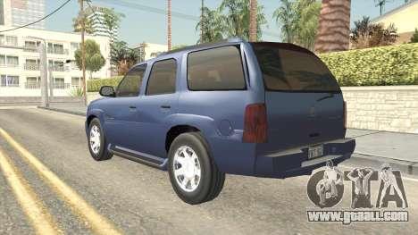 Cadillac Escalade 2002-2006 v2 for GTA San Andreas left view