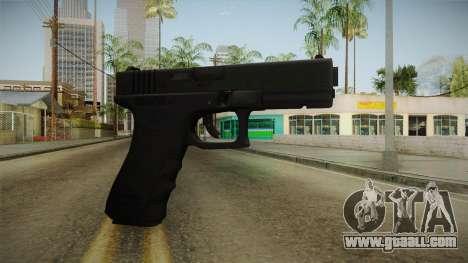Glock 17 3 Dot Sight Red for GTA San Andreas