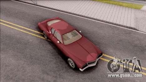 Driver PL Cerva V.2 for GTA San Andreas right view