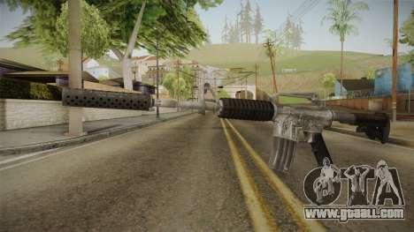 CS:GO - M4A1-S Basilisk for GTA San Andreas
